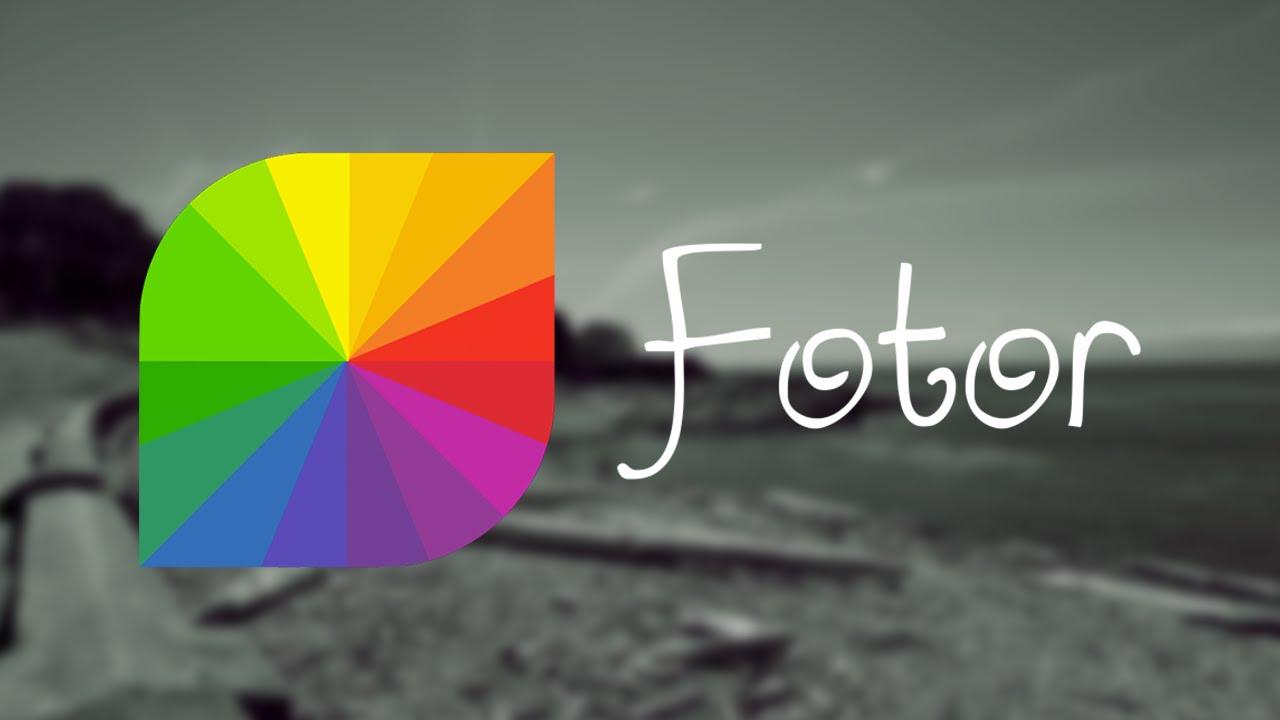 Цветно настроение от Fotor - безплатен сайт за колажи и
